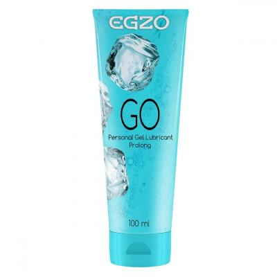Пролонгирующий лубрикант на водной основе Egzo Go - 100 мл.